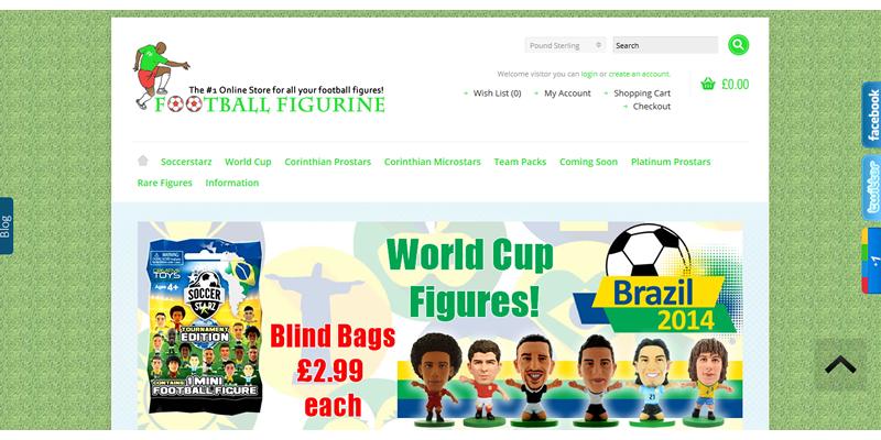 Football Figurine Store